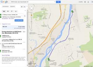 GoogleMapPassaconawayGolf