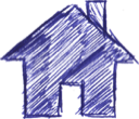 home  noun: the place where one lives permanently, especially as a member of a family or household.